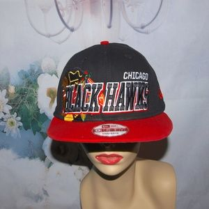 Chicago Blackhawks hat Heavy 3D Embroidered NHL